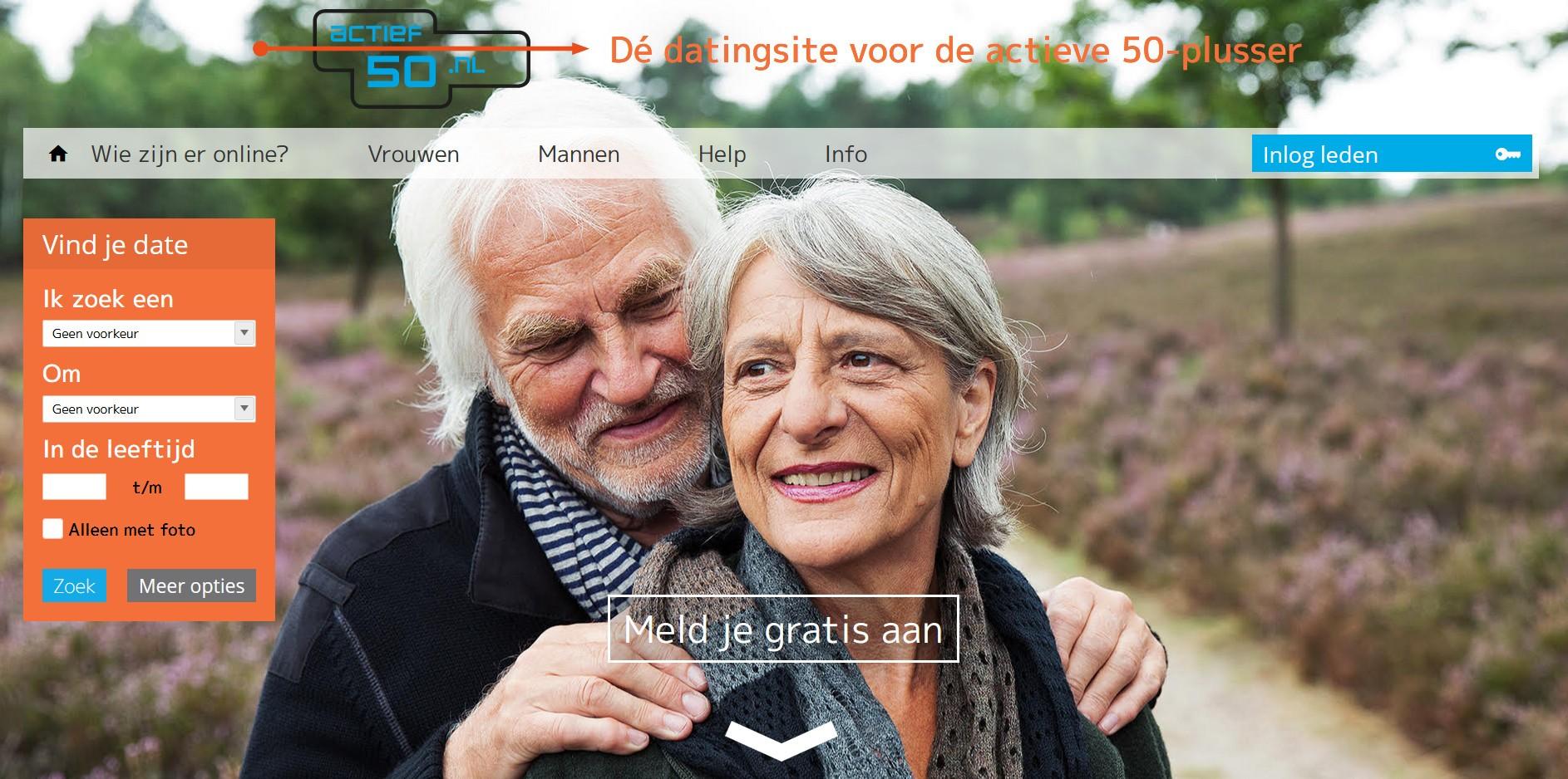 Actief50 datingsite